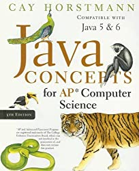 Java Concepts for AP Computer Science by Cay S. Horstmann (2007-07-24)