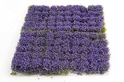 wws 100 Touffes Autocollantes d'Herbe Statique Bruyère de 10 mm