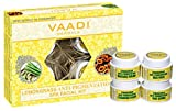 Vaadi Herbals Lemongrass Anti Pigmentation Spa Facial Kit with Cedarwood Extract, 70g