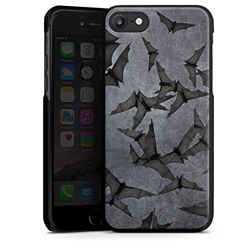 Apple iPhone 7 Hülle Premium Case Cover Fledermaus Bat Vampir Hard Case schwarz