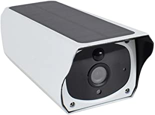 Drahtlose Hd1080p Wifi Solar Power Bullet IP-Kamera, im Freien wasserdichte Überwachungs-Überwachungskamera mit Nachtsicht-Warnungs-Warnung und Fernmonitor mit Mobile (nicht enthaltene Batterien)