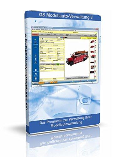 GS Modellauto-Verwaltung 8 - Software zur Verwaltung Ihrer Modellautosammlung - Datenbank Programm für Modellautos