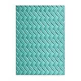 Sizzix 661261 Cartella di Goffratura Intrecciata di Lynda Kanase, PP Plastic, Multicolore, 17.9x12.2x0.4 cm