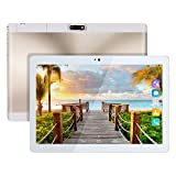 Kivors 10.1 pouces Tablette Tactile 3G -Android 7.0 MT6580 Quad Core -1.3GHz-1 RAM16 Go ROM - 800*1280 HD - Double Carte SIM Support TF Card- Double Caméra - Bluetooth 4.0 - Wifi pour Enfants Adults