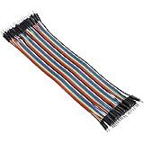 40pcs 20cm Câbles pour BreadBoard male / male - Arduino masculin jumper Fil Wire