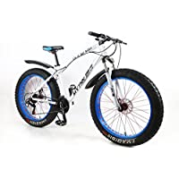 MYTNN Fatbike 26 Zoll 21 Gang Shimano Fat Tyre Mountainbike 47 cm RH Snow Bike Fat Bike