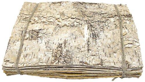 Birkenplatte 30 x 23 cm, 10 Stück, creme