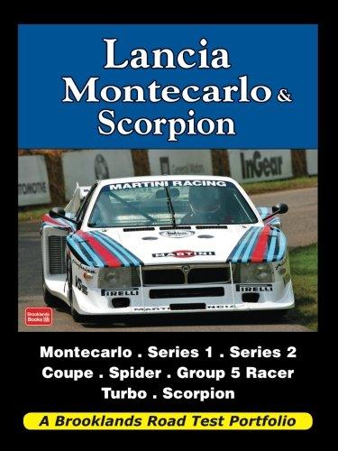 lancia-montecarlo-scorpion-brooklands-books-road-tests-series