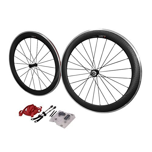 HULK SPORTS 2016700C 50MM CLINCHER RUEDAS CON ALEACION BRACKING SUPERFICIE
