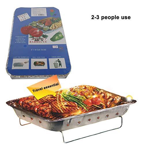XL Holzkohle Einweg Holzkohle-Grill