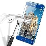 Huawei Honor 9 Pellicole Protettive, APICI 3D Full Cover Protettiva Pellicola Ultraviolet Corazzato Pellicola di Vetro Dello Schermo Pellicola Curvo Vetro di Protezione Protector Hardglass Pellicola per Honor 9 (Blu)