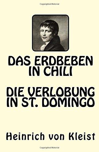 Das Erdbeben in Chili. Die Verlobung in St. Domingo