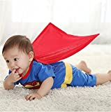 #10: Baby Superhero Costume - Superman (8-12Months)