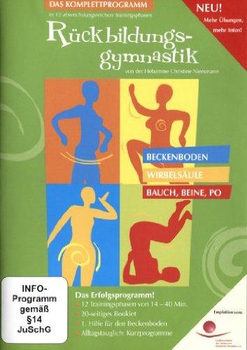 Bild von Rückbildungsgymnastik - Das Training mit Grips und Know-How von der Hebamme Christine Niersmann