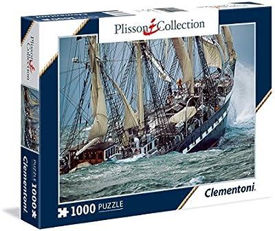 Clementoni - Puzzle de 1000 piezas, diseño French Tall Ship (39350.3)