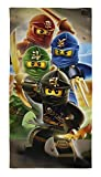 Lego Ninjago Duschtuch Badetuch Handtuch Strandtuch Velourstuch 70 x 140cm
