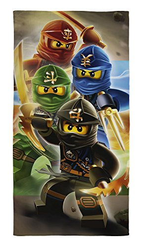Lego-Ninjago-Duschtuch-Badetuch-Handtuch-Strandtuch-Velourstuch-70-x-140cm-Quadrant