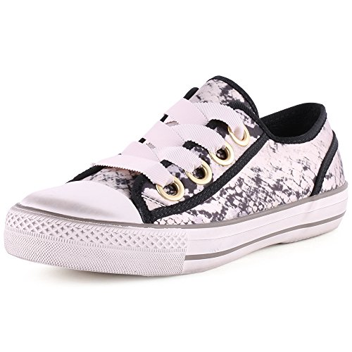 Ash Vicky Femmes Trainers Grey Black
