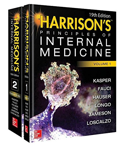 Harrison's Principles of Internal Medicine (Vol. 1 & Vol. 2)