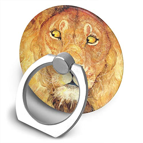 Price comparison product image Fighwy Lion Cell Phone Ring Holder Universal Smartphone Ring Grip Stand Car Mount 360 Rotation For IPhone,  IPad,  Samsung,  HTC,  Google Pixel,  Nokia,  LG