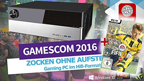 FIFA 17 OliWooD Wohnzimmer Gaming PC Hifi Bluray WLANac (AMD 8x 4.0GHz, 16GB, 128GB SSD, 2TB HDD, Geforce GTX 970, USB 3.0, Windows 10 Pro)