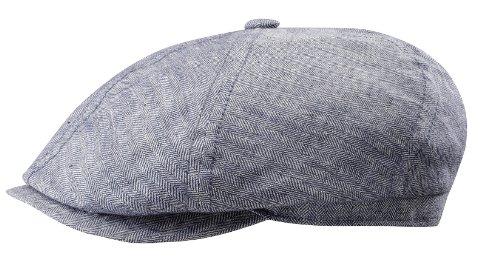 stetson-bettwsche-tweed-brooklin-flat-cap-xl-blau