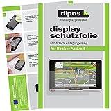 dipos Becker Active.5 Schutzfolie (3 Stück) - Antireflex Premium Folie matt