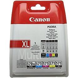 Canon PGI-570XL/CLI-571 PGBK Cartouche d'encre d'origine Combo pack