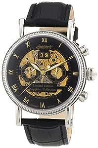 Ingersoll - IN7910BK - Montre Homme - Automatique - Chronographe - Bracelet Cuir Noir