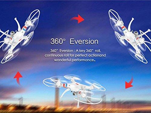 Syma X8C Heli/Quadcopter, weiß - 3