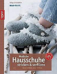 Modische Hausschuhe stricken & verfilzen: Neue Formen, neue Farben (kreativ.kompakt.)