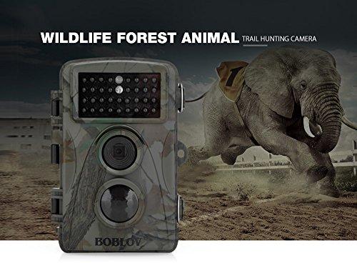 Galleria fotografica OutLife 12MP 1080P HD Fotocamera da Caccia Impermeabile IP66 Macchine Fotografiche da Caccia, Schermo 2.4 Pollici LCD, Rilevazione di Movimento ad Alta-Sensibilità,Visione Notturna ad Infrarossi LED