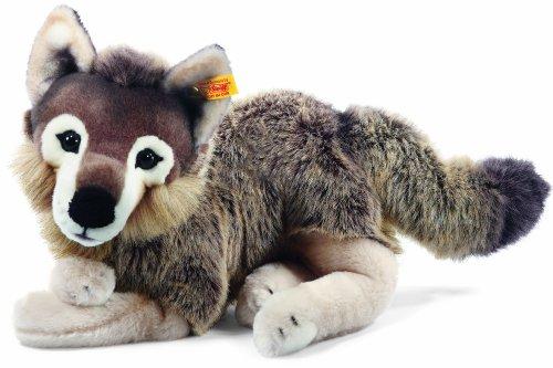 Preisvergleich Produktbild Steiff 069284 - Snorry Schlenker Wolf, 40 cm, grau/braun