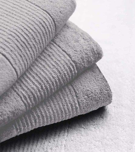 N k bielefelder & lavable : collection exklusiv gants de toilette 16 x 21 (lot de 6) - 12 coole-fun-t-shirts 16 x 21 cm argent