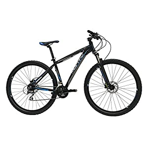 Monty KY29 Bicicleta de Montaña, Unisex adulto, Negro, L