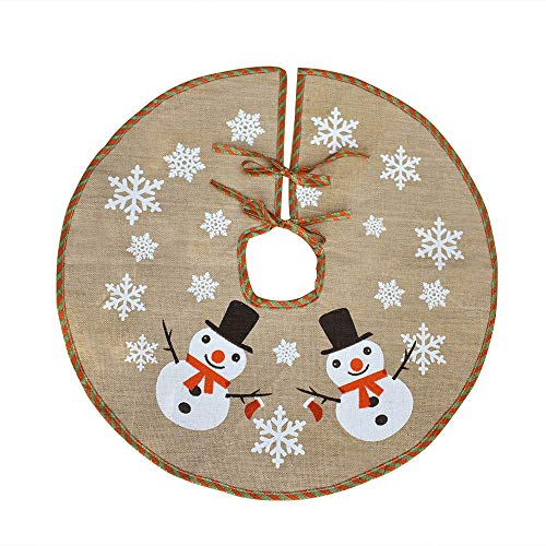 Awtlife - Tela navideña base árbol diseño navideño