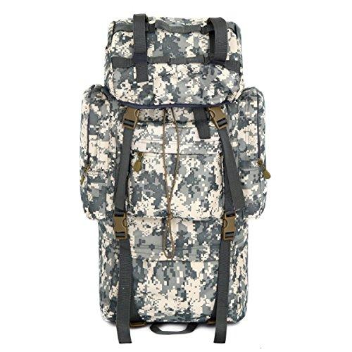 Outdoor Rucksack Tarnung Große Multifunktionale Bergsteigen Tasche ACUcamouflage