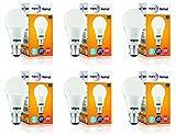 #10: Wipro Garnet Base B22 9-Watt LED Bulb (Pack of 6, Cool Day Light)