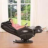 Massagesessel »Komfort Deluxe«, mit Shiatsu-Massagefunktion, drehbar, Transportrollen - 5