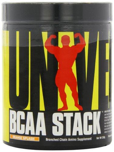 Universal Nutrition BCAA Stack Verzweigtkettige Aminosäure 250g (Orange) -