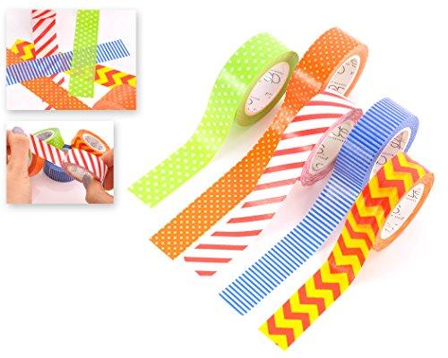 dsstyles-10m-adhesivo-creativo-reposicionable-scrapbooking-craft-stripes-dots-diy-japones-masking-ta