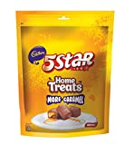 A delicious indulgent combination of chocolate, caramel and nougat. Longer lasting chewy multi textured chocolate eat experience. Contains 3 packs of Cadbury home treats 5 star, 200g pack each.