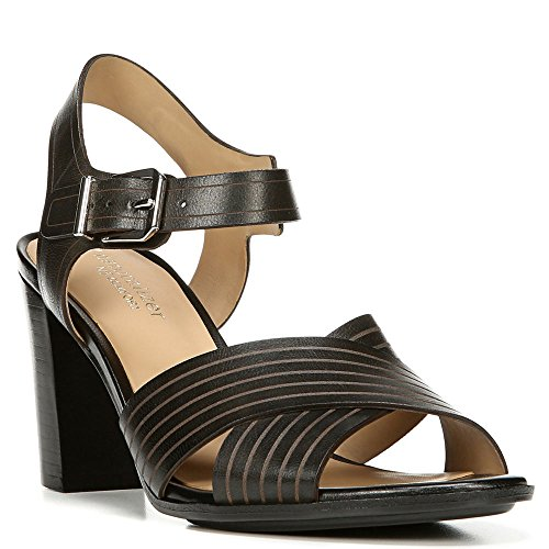 naturalizer-damen-sandalen-schwarz-black-leather-grosse-38