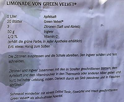 """Australisches Zitronenblatt""""Green Velvet"""" Kräuter Pflanze, Ideal für Smoothie, frische Qualität aus der Gärtnerei ! von Weseler Kräuterparadies - Du und dein Garten"""