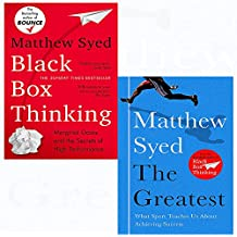 Black box thinking and greatest 2 books collection set