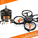zoopa ZQ01650 - Quadrocopter, schwarz/orange
