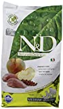Hundefutter Trockenfutter N&D Wildschwein & Apfel, Getreidefrei - Natural & Delicious Farmina (2500 Gramm)