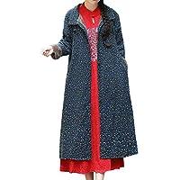 Abrigos Mujer Invierno Elegantes Talla Grande Rebajas Moda Mujer AlgodóN Lino Invierno ImpresióN Personalizada Y Personalizada