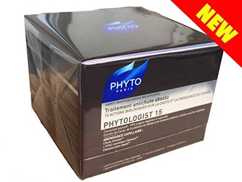 Preisvergleich Produktbild phytosolba phytologist 15 – Neuheit: PHYTO phytologist 15 Behandlung zur Absturzsicherung Absolute. Set 12 LIBELLEN von 3, 5 ml mit Endstück Applikator