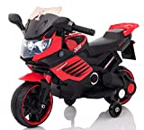 GetBest LQ-158 Spark Kids Battery Operated Ride on Bike (Red)